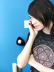 two gay cowboys kissing